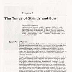The tunes of strings and bow