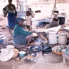 Cooking Scene in Oyo