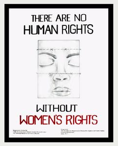 There are no human rights without women's rights
