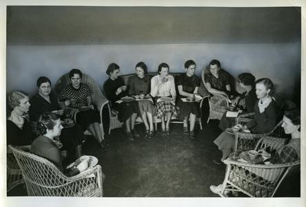 Young Women's Christian Association group photograph