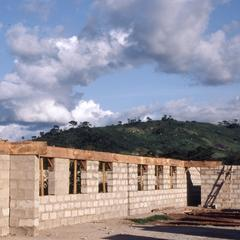 Building new school