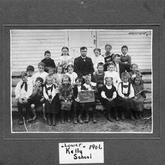 "Kelly ""Lower"" School-Town of Weston, Marathon County, WI. 1906"