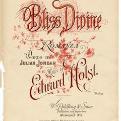 Bliss divine romanza