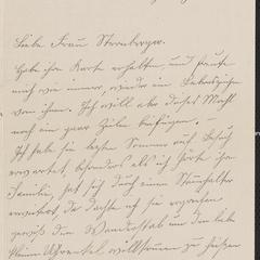 [Letter from A. Maria Koehler to Franziska Sternberger, December 23, 1918]