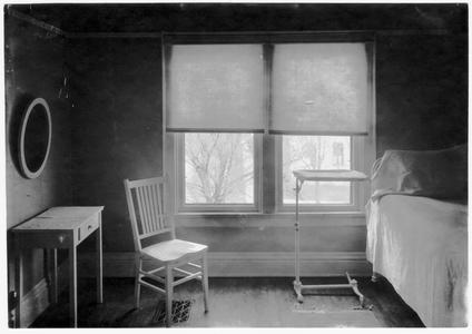 Home nursing room in the practice cottage