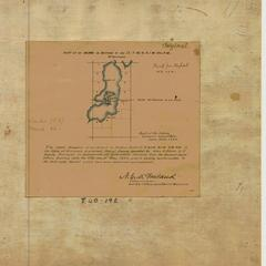 [Public Land Survey System map: Wisconsin Township 40 North, Range 01 West]