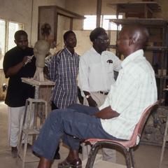 Folarin teaching