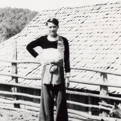 Young White Hmong man in Houa Khong Province