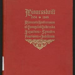 Minnesskrift 1858-1908