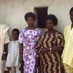 Nike (Komolafe) Afolabi's family