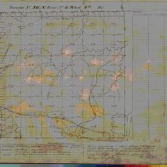 [Public Land Survey System map: Wisconsin Township 46 North, Range 06 West]