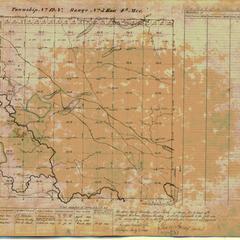 [Public Land Survey System map: Wisconsin Township 12 North, Range 05 East]