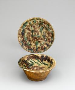 Saucer and bowl