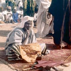 Muslim Elder at Sallah Celebration in Tumu