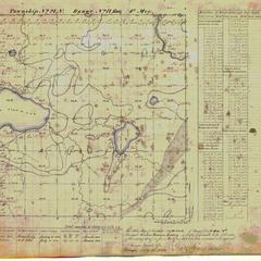 [Public Land Survey System map: Wisconsin Township 27 North, Range 17 East]