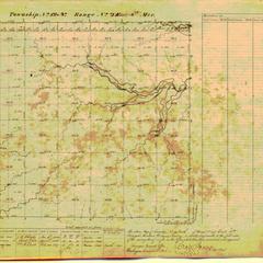 [Public Land Survey System map: Wisconsin Township 12 North, Range 02 East]
