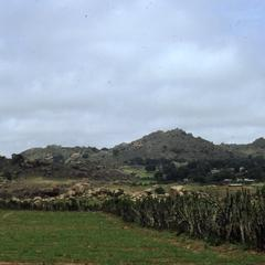 Farm and hills in Jos