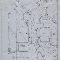 Map, agricultural campus, ca. 1946