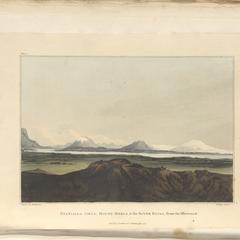 Eyafialla Iokul, Mount Hekla, & the River Elvas, from the westward