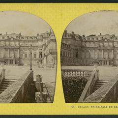 Facade principale du Château de St. Cloud