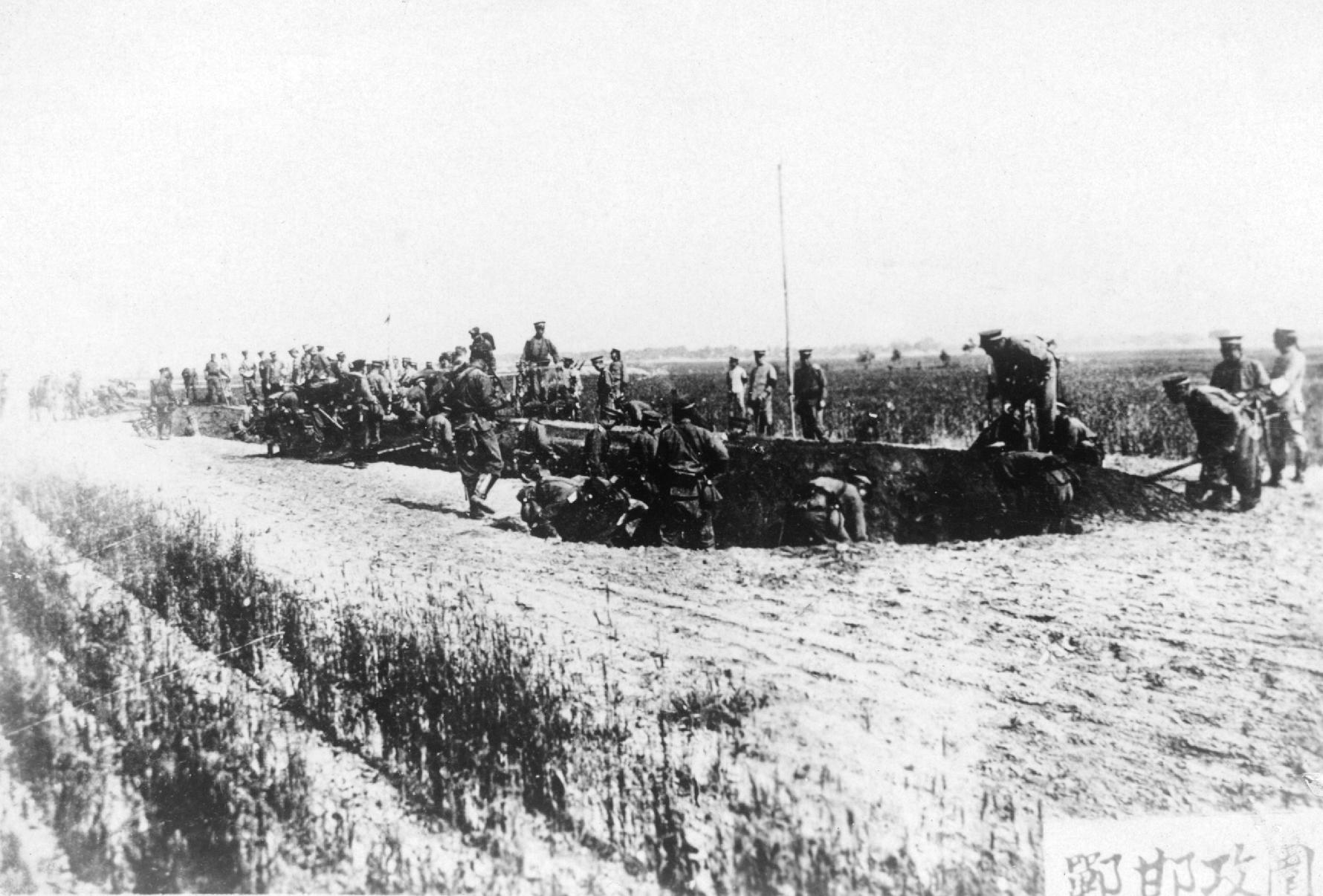 Siege at Handan 邯鄲.