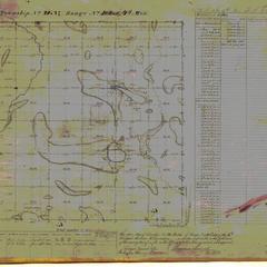 [Public Land Survey System map: Wisconsin Township 28 North, Range 10 East]