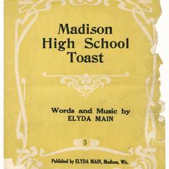 Madison High School toast