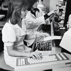 Women in a lab