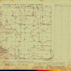 [Public Land Survey System map: Wisconsin Township 14 North, Range 08 East]
