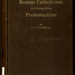 Roman Catholicism capitulating before Protestantism