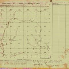 [Public Land Survey System map: Wisconsin Township 14 North, Range 03 West]