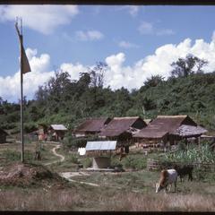Yao village : at landing strip