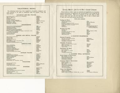 Page 4 - A.L.A. lists used in camp library work
