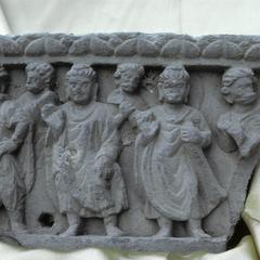 NG014, Buddhas, Bodhisattva and Attendants