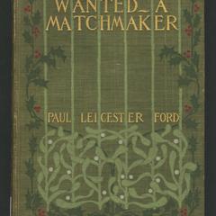 Wanted-- a match maker