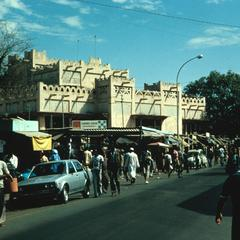 Sandaga Market Architecture Similar to Buildings in Timbuktu