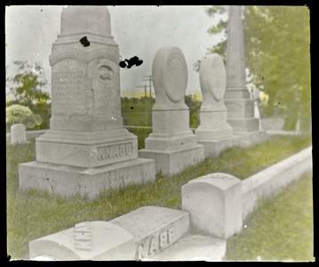 Knapp monuments, Green Ridge Cemetery