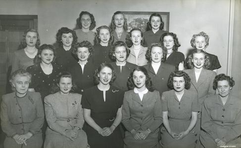 Phi Upsilon Omicron group photograph