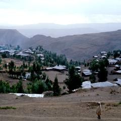 View of the Village of Lalibella