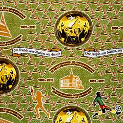 Images of Commemorative Fabrics from Africa