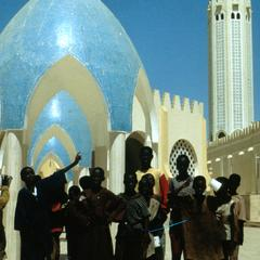 Children in Front of the Great Mosque