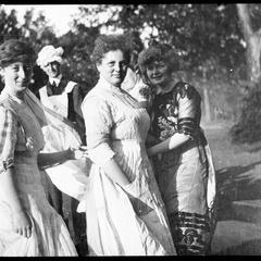 "Dorothy Gross, M Strean, ""Turk"" Walker, and M. C. B"