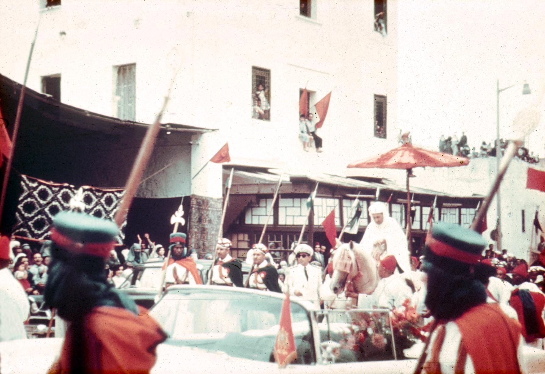 Sultan Mohammed V in Fez