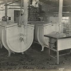Waukesha Ice Cream Company, Waukesha, interior