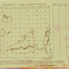 [Public Land Survey System map: Wisconsin Township 02 North, Range 14 East]