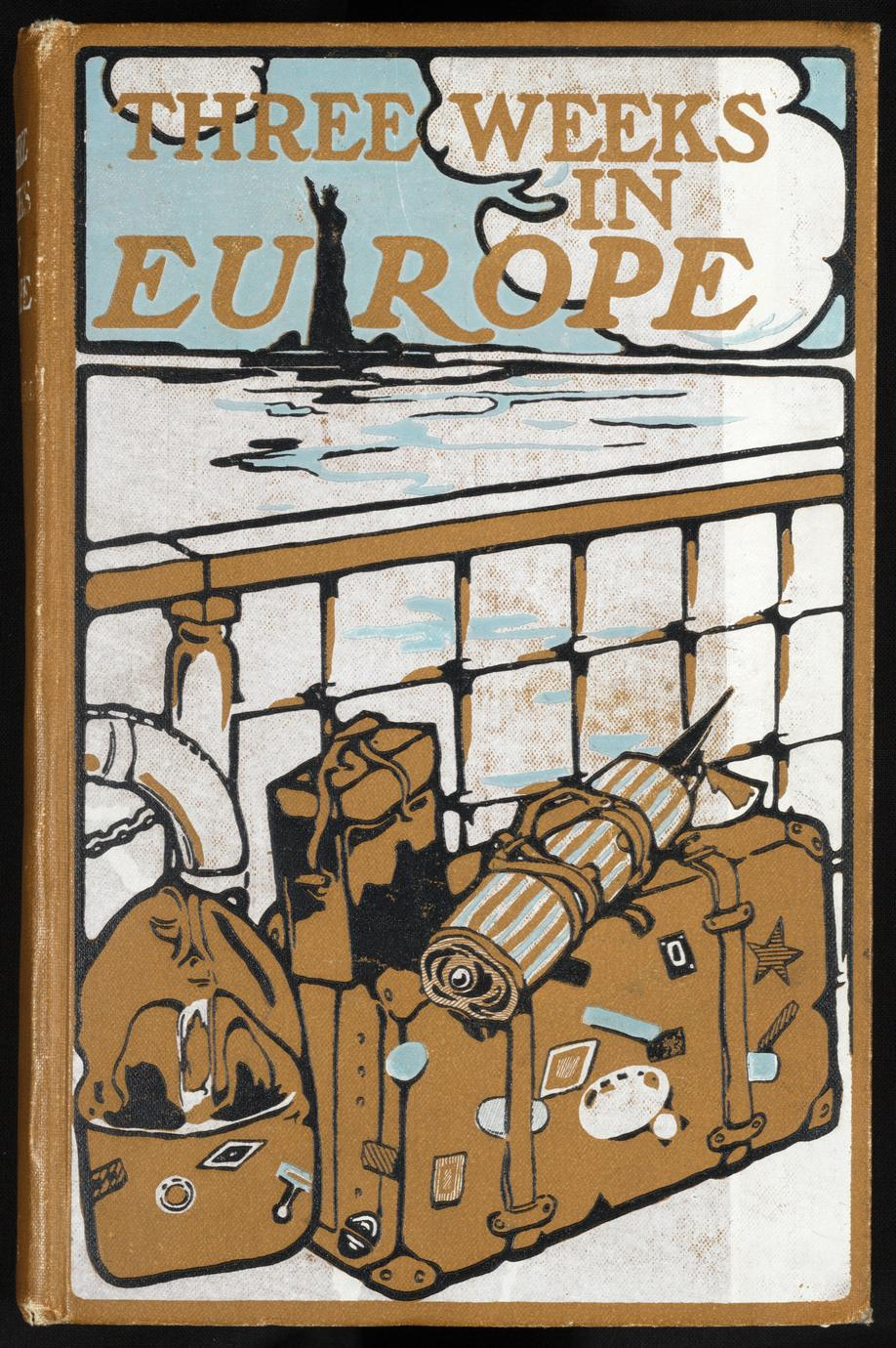Three weeks in Europe : the vacation of a busy man