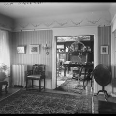 G. A. Yule residence - parlor