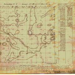 [Public Land Survey System map: Wisconsin Township 01 North, Range 18 East]