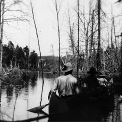 Aldo, Starker, and Luna Leopold at Quetico Boundary Waters
