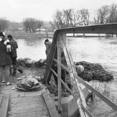 Flooding of the Fox River, 1960